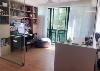 钢琴和书房