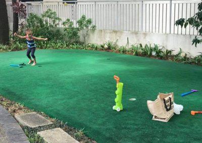 高球练习草地